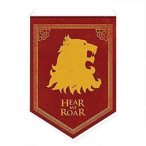 Bandeirola Decorativa Casa Lannister - GOT