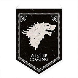 Bandeirola Decorativa Casa Stark - GOT