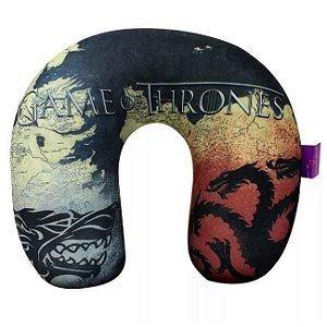 Almofada de Pescoço Micropérolas Westeros - Game of Thrones
