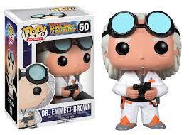 POP! Funko Dr.Emett Brown - De Volta para o Futuro | Back to The Future #50