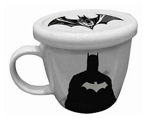 Caneca de Porcelana 330ml c/ Tampa - Batman Liga da Justiça - DC Comics