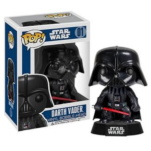 POP! Funko Star Wars: Darth Vader Bobble Head # 01