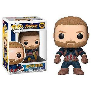 POP! Funko Marvel: Capitão América Infinify War  - Guerra Infinita # 288