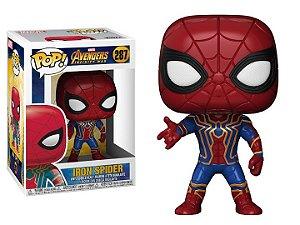 POP! Funko Marvel: Spider Iron | Homem Aranha Infinity War - Guerra Infinita  # 287