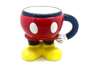 Caneca 3D 350ml Corpo Mickey Mouse - Disney