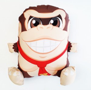Almofada CuboArk 3D Formato Donkey Kong
