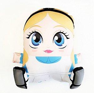 Almofada CuboArk 3D Formato Alice no Pais das Maravilhas