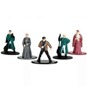 Coleção 5 Mini Figuras Nano Metal - Harry Potter Personagens Mod. 2