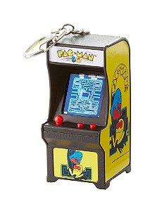 Chaveiro Mini Fliperama Retrô Tiny Arcade - Pacman