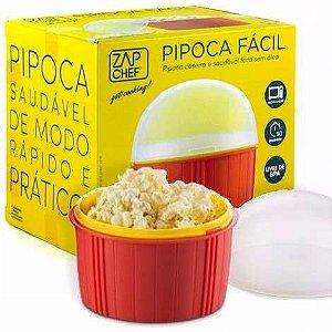 Pipoqueira de Microondas - Pipoca Fácil