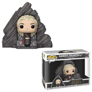 Pop! Funko Game of Thrones: Daenerys Targaryen on Dragonstone Throne # 63