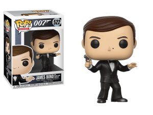 Pop! Funko Movies: 007 - James Bond # 522