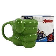 Caneca Porcelana 3D 350ml Marvel - Punho Hulk