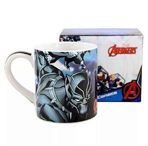 Caneca Porcelana 460ml Marvel - Pantera Negra