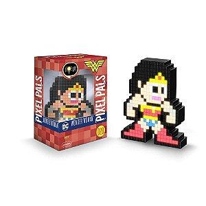 Luminária 8 Bit Pixel Pals Mulher Maravilha - DC Comics