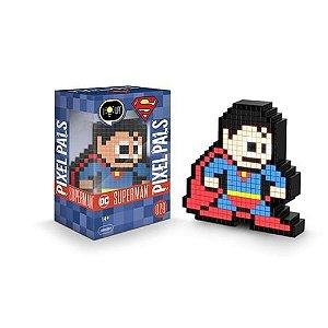 Luminária 8 Bit Pixel Pals Super Homem - DC Comics