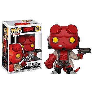 POP! Funko Comics: Hellboy s/ Chifres # 01
