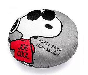 Almofada com Bolso 40cm Snoopy Classico Cool