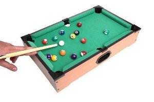 Mini Mesa de Sinuca Snooker - 50cm