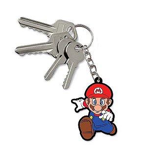 Chaveiro Emborrachado Cute Mario Ação