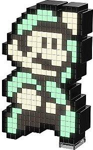 Luminária 8 Bit Pixel Pals Nintendo - Luigi