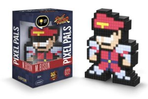 Luminária 8 Bit Pixel Pals Street Fighter - M. Bison