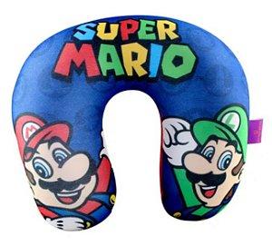 Almofada de Pescoço Micropérolas Super Mario