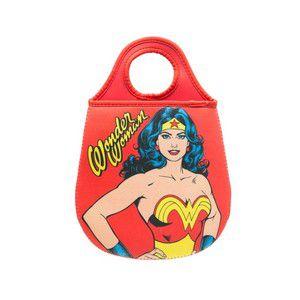 Lixeira para Carro Neoprene  Mulher Maravilha - DC Comics