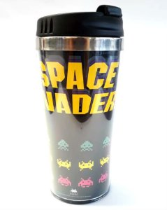 Copo Térmico 500ml Gamer - Space Invaders