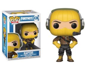 Boneco POP! Funko Fortnite Raptor # 436