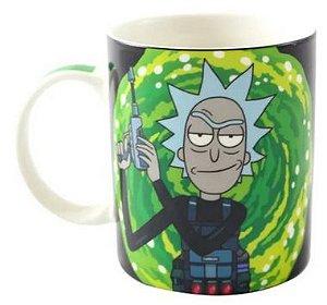 Caneca Mágica Termossensível 300ml Rick & Morty