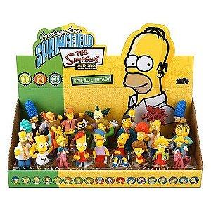 Coleção Miniaturas Os Simpsons. 24 Personagens