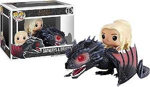 POP! Funko Rides: Game of Thrones | GOT - Daenerys & Drogon # 15