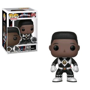 POP! Funko Power Rangers 25th Black | Preto - Zack # 672