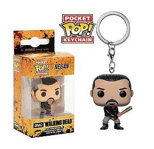 Chaveiro Pocket POP! Funko The Walking Dead - Negan
