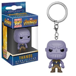 Chaveiro Pocket POP! Funko Marvel Infinity War - Thanos