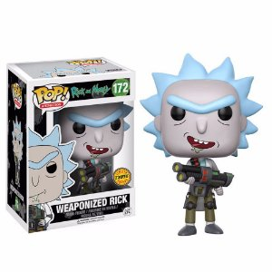 POP! Funko Rick and Morty CHASE: Weaponized Rick # 172