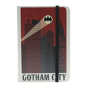 Caderneta de Anotações s/ pauta 100 fls Gotham City - Batman DC Comics