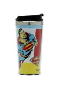 Copo Térmico 500ml Superman Voando - DC Comics Oficial