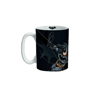 Mini Caneca Porcelana 135ml Batman Ação - DC Comics