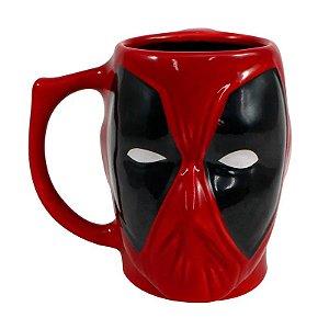 Caneca Porcelana 3D 400ml Marvel - Deadpool