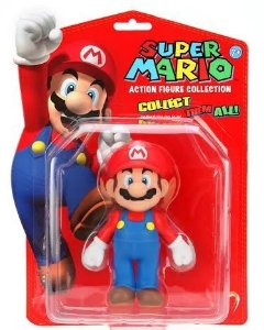 Boneco Super Mario - Action Figure Collection