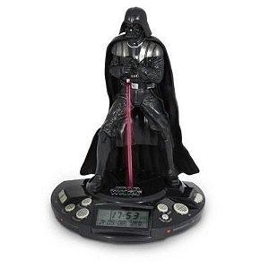 Rádio Relógio Despertador Darth Vader - Star Wars