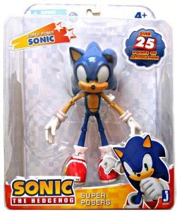Sonic The Hedgehog 6'' Super Poser - Articulável