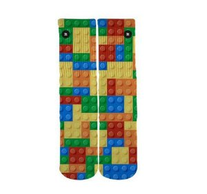 Meia Blocos Lego - ItSox