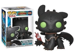 POP! Funko Movies: como treinar seu Dragão - Toothless / Banguela # 686