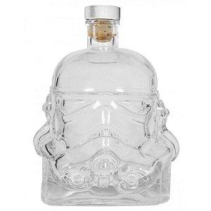 Garrafa Vidro 750ml c/ Tampa -  Storm trooper Star Wars