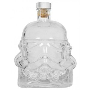 Garrafa Vidro 750ml c/ Tampa -  Stormtrooper Star Wars