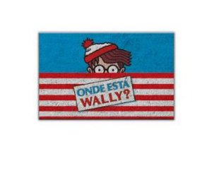 Tapete / Capacho Fibra de Coco 60cm - Onde Está Wally