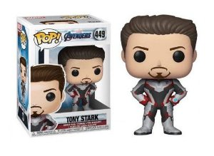 Pop! Funko Marvel End Game | Ultimato - Tony Stark # 449